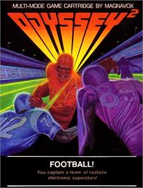 Box cover for Football! on the Magnavox Odyssey 2.