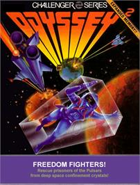 Box cover for Freedom Fighters on the Magnavox Odyssey 2.