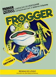 Box cover for Frogger on the Magnavox Odyssey 2.