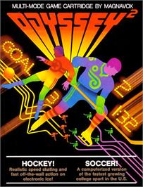 Box cover for Hockey! / Soccer! on the Magnavox Odyssey 2.