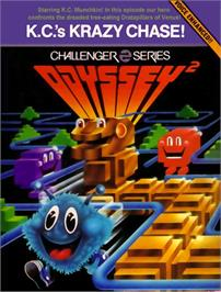 Box cover for K.C.'s Krazy Chase on the Magnavox Odyssey 2.
