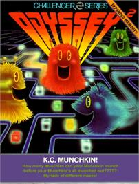 Box cover for K.C. Munchkin on the Magnavox Odyssey 2.