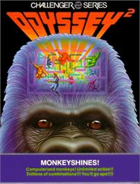 Box cover for Monkeyshines! on the Magnavox Odyssey 2.
