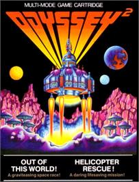 Box cover for Out of this World on the Magnavox Odyssey 2.
