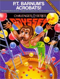 Box cover for P.T. Barnum's Acrobats on the Magnavox Odyssey 2.