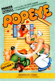 Box cover for Popeye on the Magnavox Odyssey 2.