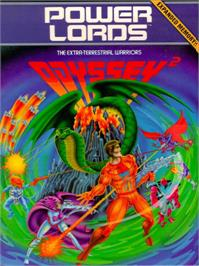 Box cover for Powerlords on the Magnavox Odyssey 2.