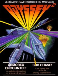 Box cover for Subchase on the Magnavox Odyssey 2.
