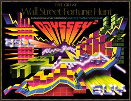 Box cover for The Great Wall Street Fortune Hunt on the Magnavox Odyssey 2.