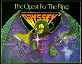 Box cover for The Quest for the Rings on the Magnavox Odyssey 2.
