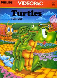 Box cover for Turtles on the Magnavox Odyssey 2.