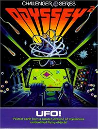 Box cover for UFO on the Magnavox Odyssey 2.