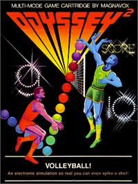 Box cover for Volleyball! on the Magnavox Odyssey 2.