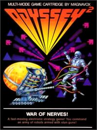 Box cover for War of Nerves on the Magnavox Odyssey 2.