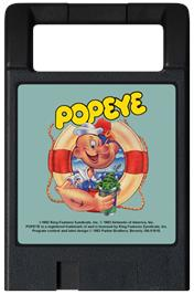 Cartridge artwork for Popeye on the Magnavox Odyssey 2.