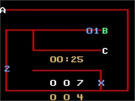 In game image of Chinese Logic on the Magnavox Odyssey 2.