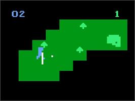In game image of Computer Golf! on the Magnavox Odyssey 2.