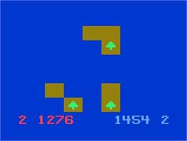 In game image of Conquest of the World on the Magnavox Odyssey 2.