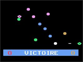 In game image of Invaders from Hyperspace! on the Magnavox Odyssey 2.