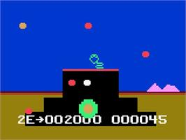 In game image of Powerlords on the Magnavox Odyssey 2.