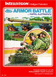 Box cover for Armor Battle on the Mattel Intellivision.
