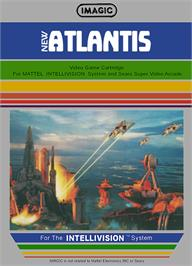 Box cover for Atlantis on the Mattel Intellivision.