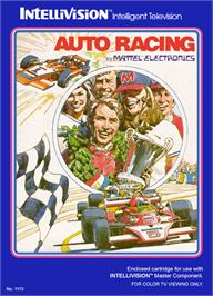 Box cover for Auto Racing on the Mattel Intellivision.