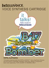 Box cover for B-17 Bomber on the Mattel Intellivision.