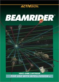 Box cover for Beamrider on the Mattel Intellivision.
