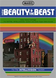 Box cover for Beauty and the Beast on the Mattel Intellivision.