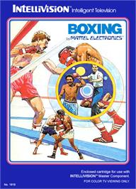 Box cover for Boxing on the Mattel Intellivision.