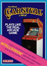 Box cover for Carnival on the Mattel Intellivision.