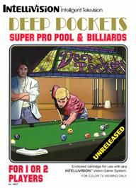 Box cover for Deep Pockets: Super Pro Pool & Billiards on the Mattel Intellivision.