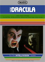 Box cover for Dracula on the Mattel Intellivision.
