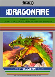 Box cover for Dragon Fire on the Mattel Intellivision.