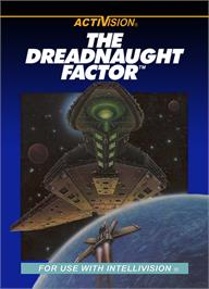 Box cover for Dreadnaught Factor on the Mattel Intellivision.