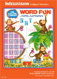 Box cover for Electric Company: Word Fun on the Mattel Intellivision.