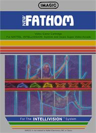 Box cover for Fathom on the Mattel Intellivision.