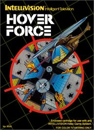 Box cover for Hover Force on the Mattel Intellivision.