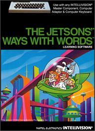Box cover for Jetsons' Ways With Words on the Mattel Intellivision.