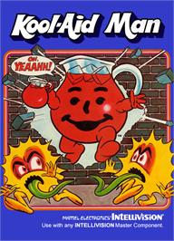 Box cover for Kool-Aid Man on the Mattel Intellivision.