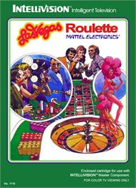 Box cover for Las Vegas Roulette on the Mattel Intellivision.