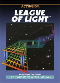 Box cover for League of Light on the Mattel Intellivision.