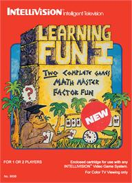 Box cover for Learning Fun I: Math Master Factor Fun on the Mattel Intellivision.