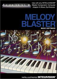 Box cover for Melody Blaster on the Mattel Intellivision.