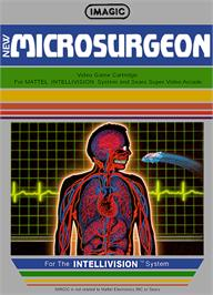Box cover for Microsurgeon on the Mattel Intellivision.