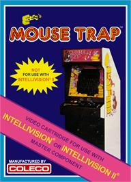 Box cover for Mouse Trap on the Mattel Intellivision.
