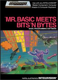 Box cover for Mr. Basic Meets Bits 'N Bytes on the Mattel Intellivision.