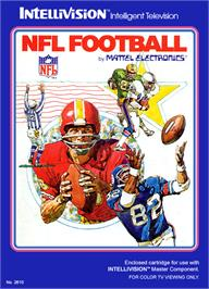 Box cover for NFL Football on the Mattel Intellivision.