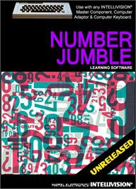Box cover for Number Jumble on the Mattel Intellivision.